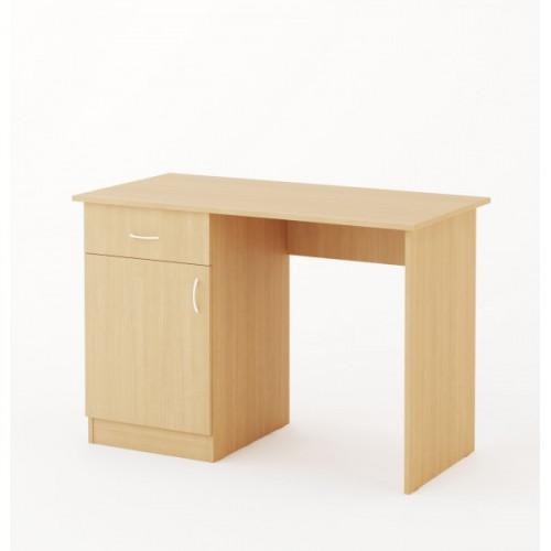 Стол письменный, дуб беленый