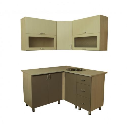 Кухонный гарнитур угловой  МДФ матовый 1400*1400 мм