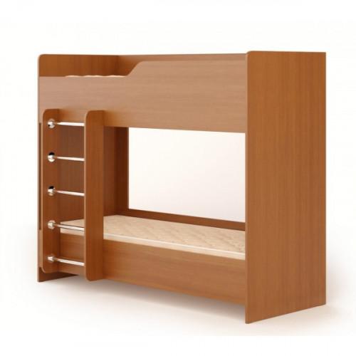 Кровать двухъярусная №2 (без матраца), бук