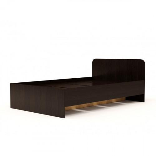 Кровать №2 (1200) (без матраца), Венге