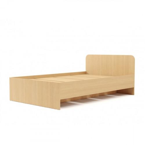 Кровать №2 (900) (без матраца), Беленый дуб