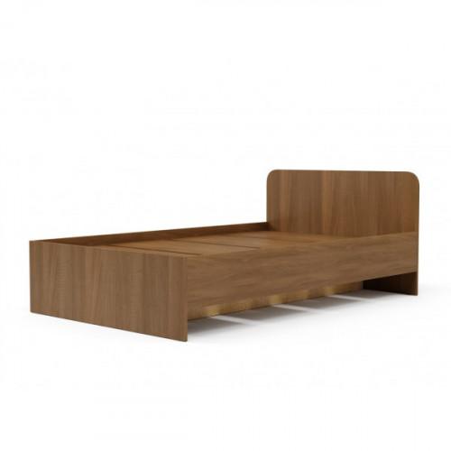 Кровать №2 (900) (без матраца), Орех